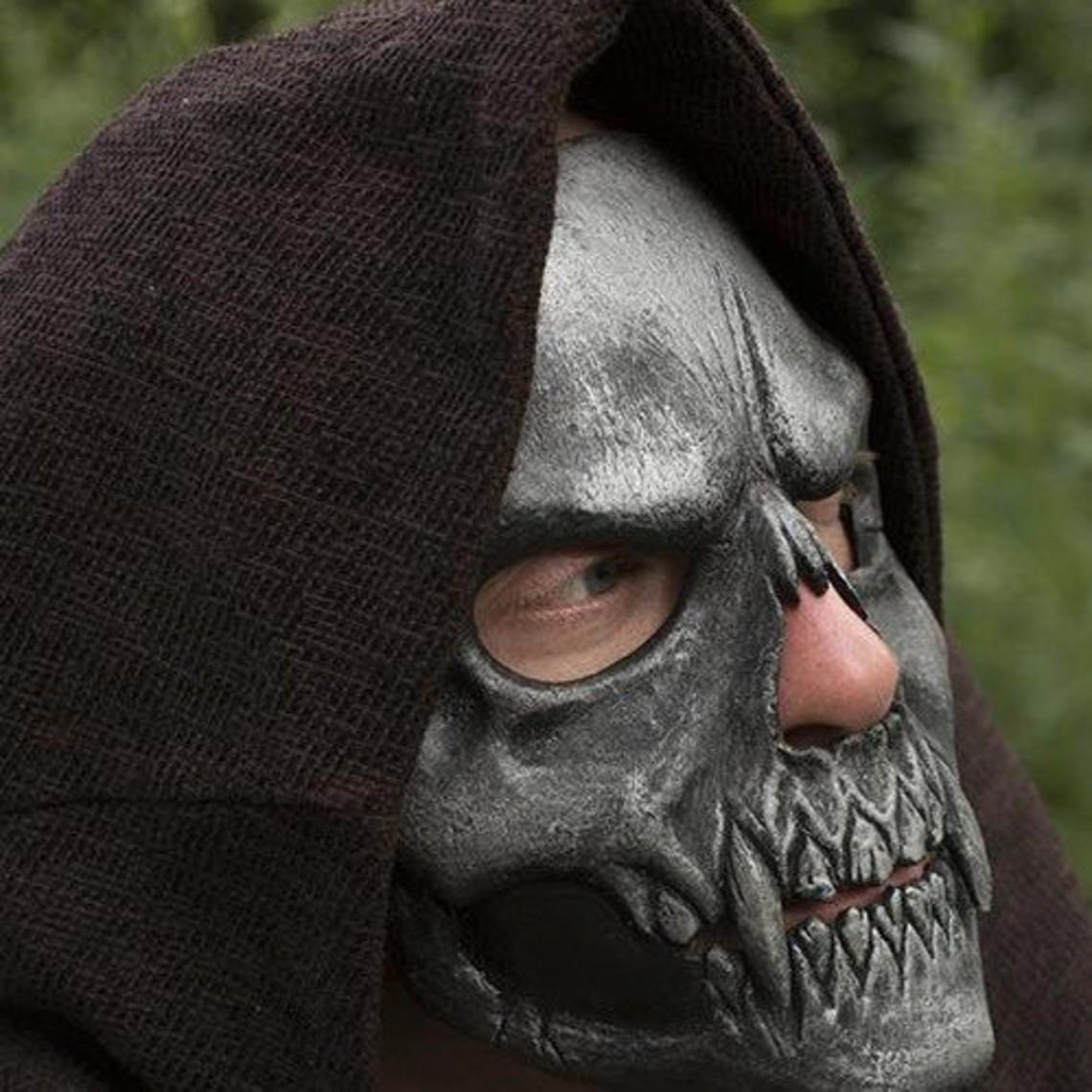 Epic Armoury Máscara trofeo cráneo, plata