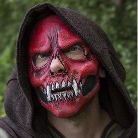 Epic Armoury Skull Trophy Mask, röd