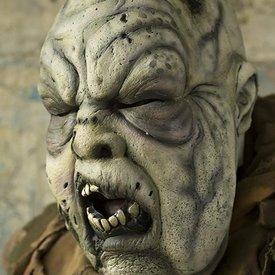 Epic Armoury Grågrön Zombie mask