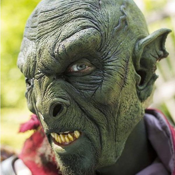 Epic Armoury Bestial Orc Maska zielony