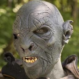 Dunkler Orc Maske