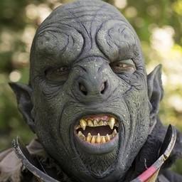 Grön Orc mask