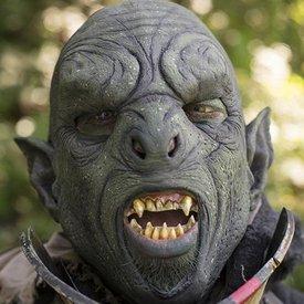 Epic Armoury maschera verde Orc
