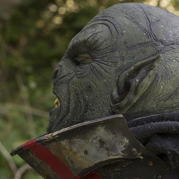 Epic Armoury masque vert Orc