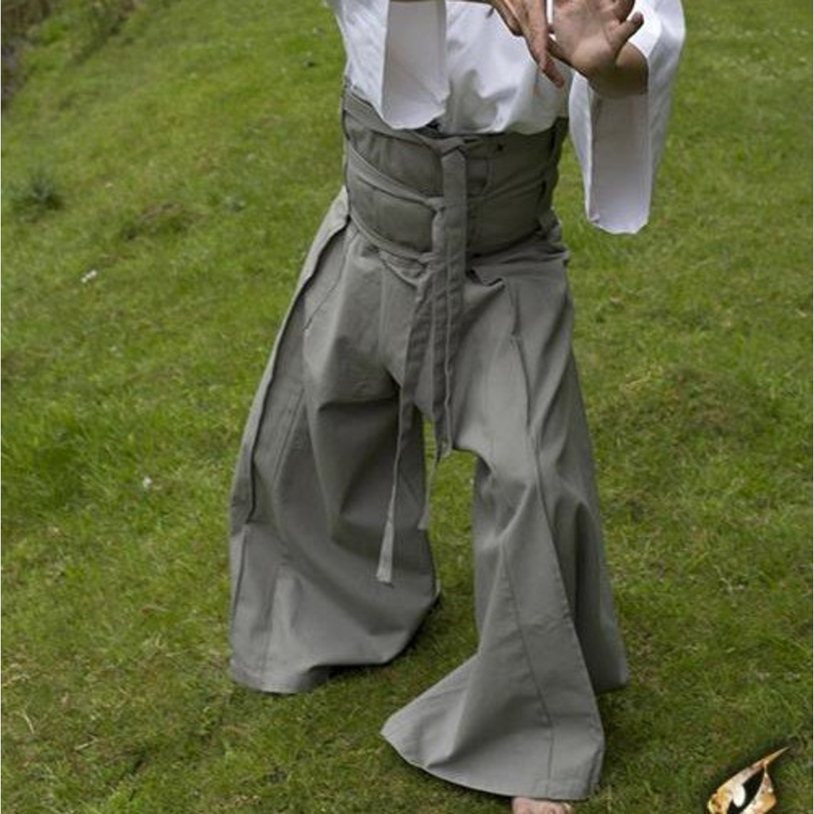 Epic Armoury pantalons Samurai, noir