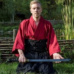 Samurai byxor, svart