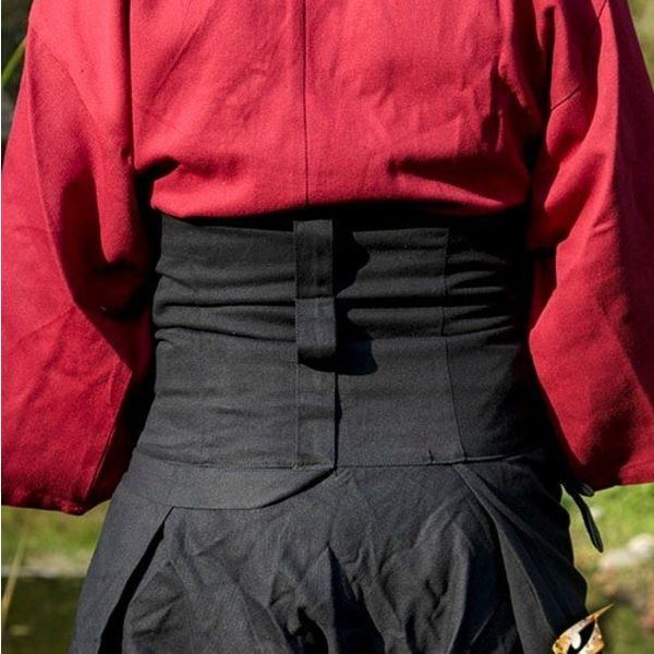 Epic Armoury Samurai broek zwart