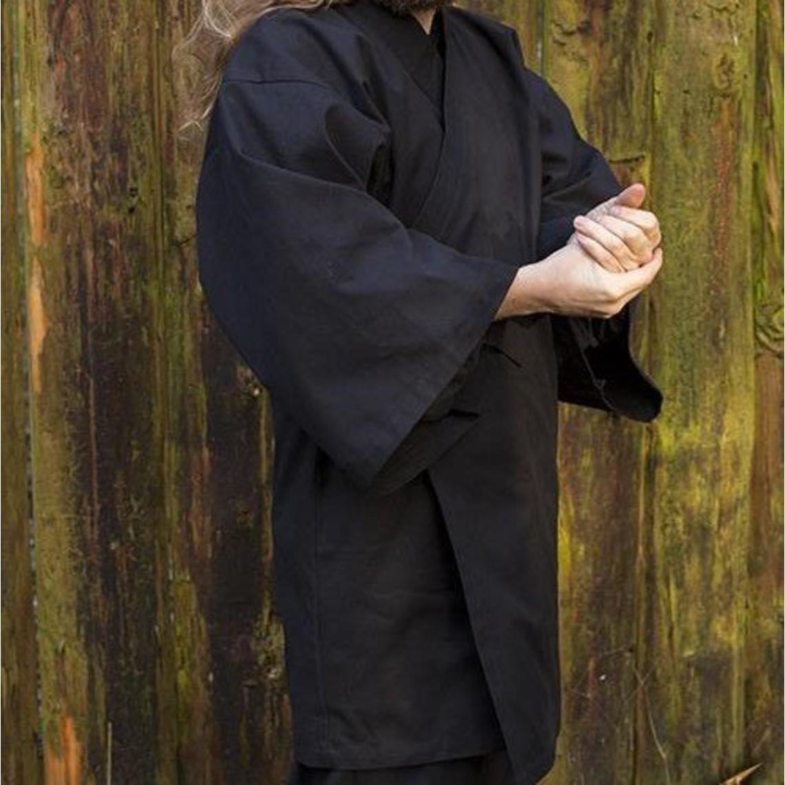 Epic Armoury kimono negro