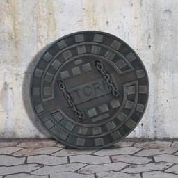 LARP Manhole cover