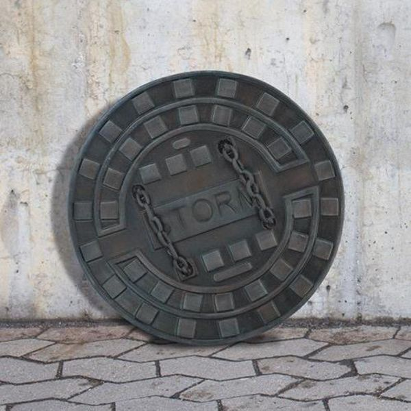 Epic Armoury LARP Manhole cover