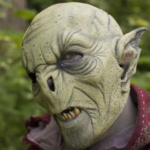 Epic Armoury Wild Orc mask ochre