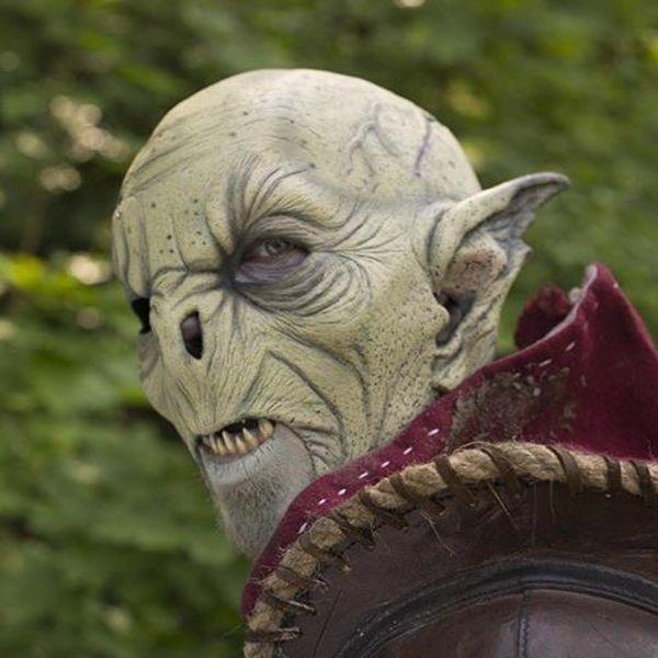 Epic Armoury Selvaggio maschera ocra Orc