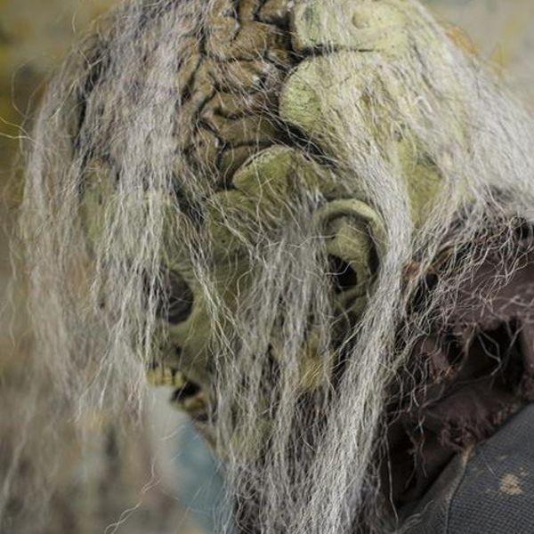 Epic Armoury Zombie maske med hjerner