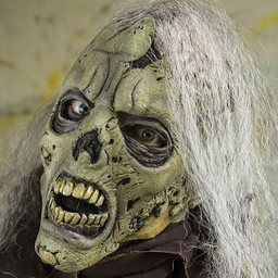 Zombie mask with brains