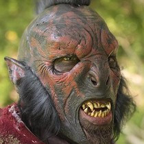 Epic Armoury Red Orc mask