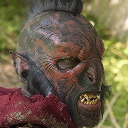 Red Orc mask
