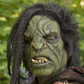 Epic Armoury máscara Orc com cabelo