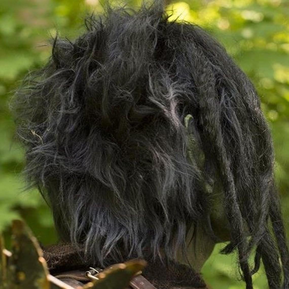 Epic Armoury máscara orco con el pelo