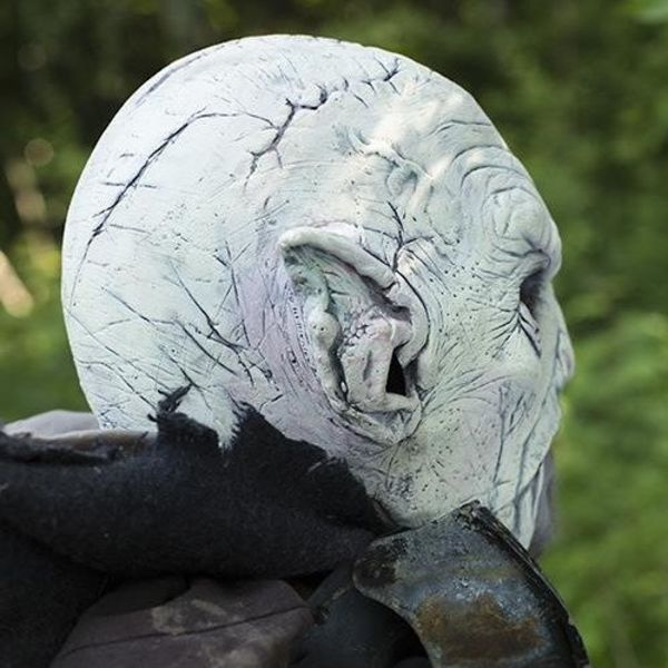 Epic Armoury Maske hvid Orc
