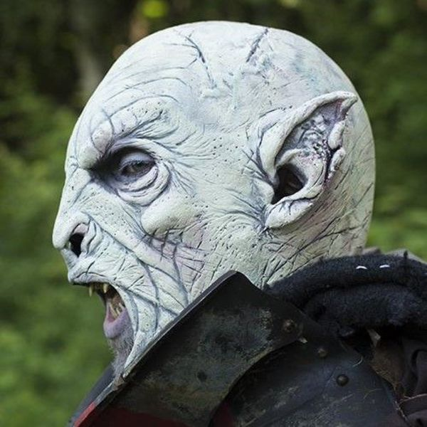 Epic Armoury Masque blanc Orc