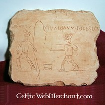 Graffiti gladiatori Pompei