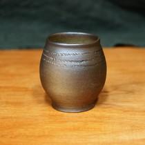 Birka ear spoon, grave 523, silvered