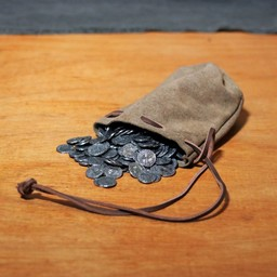 Historical leather pouch