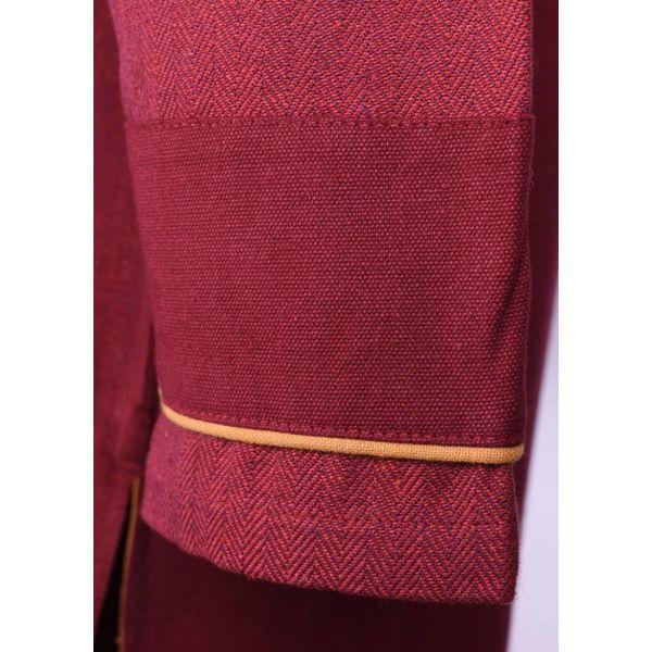Tunique Thorsberg motif à chevrons, rouge