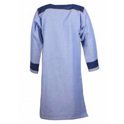 Thorsberg tunika jodełka motyw, niebieski
