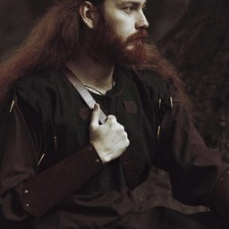 Skjoldehamm tunic, brown-black