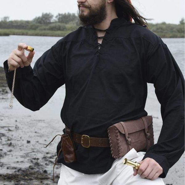 Shirt Francis, black