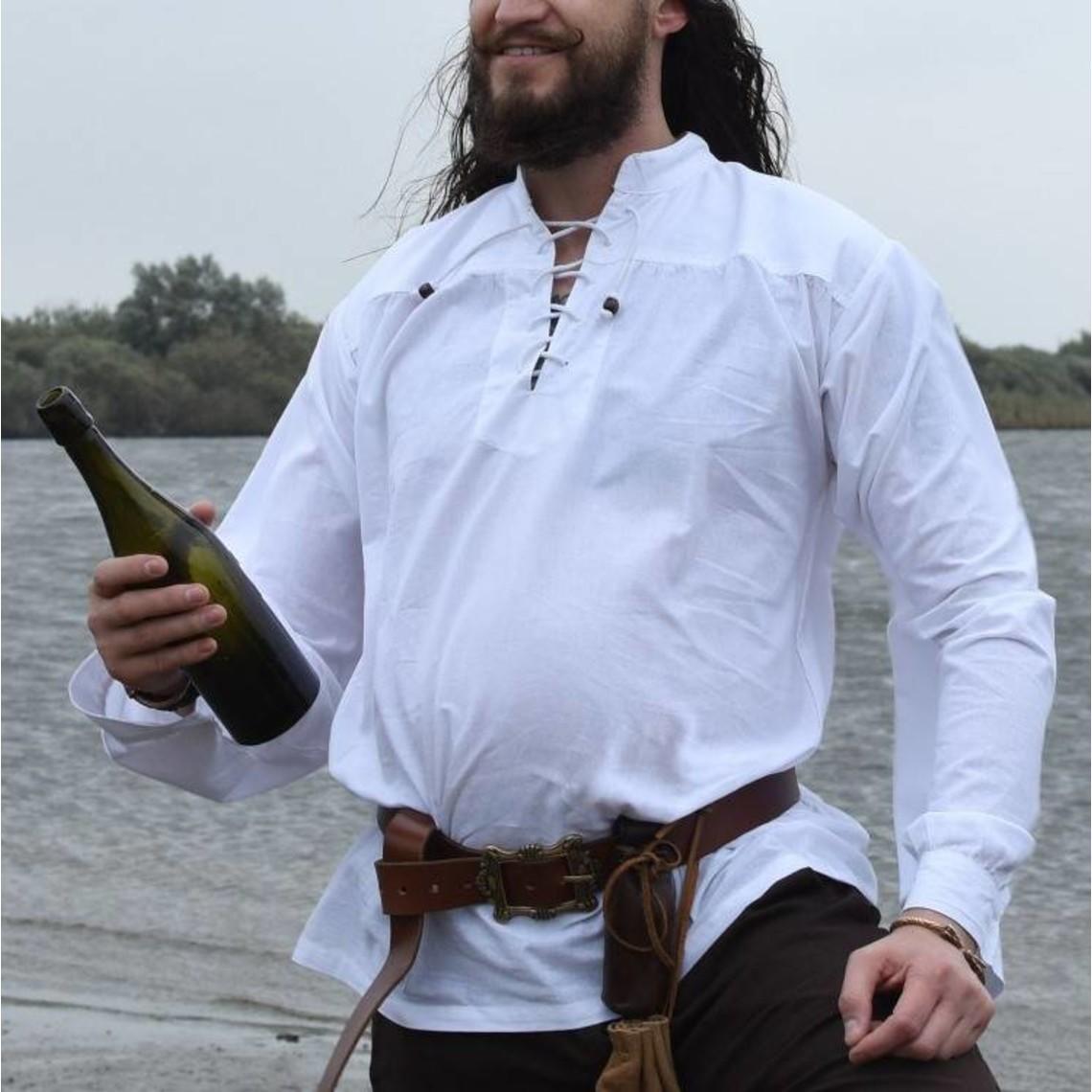 Camisa francis, blanca