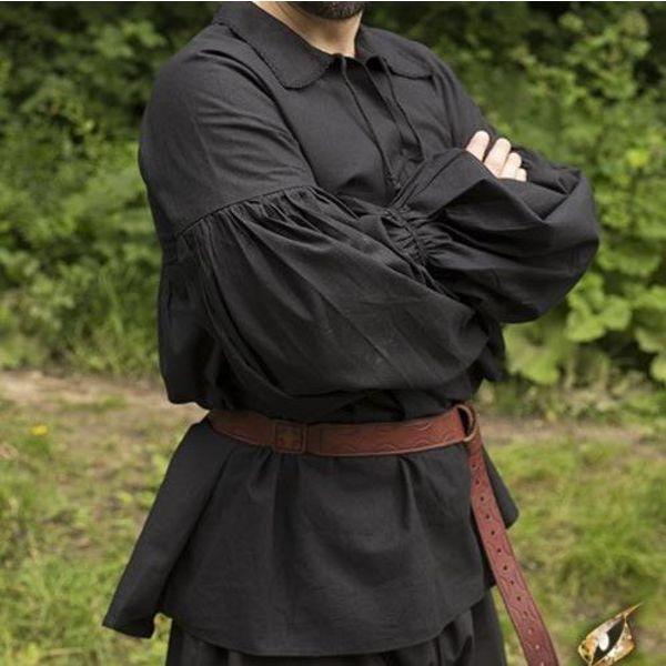 Epic Armoury Pirat skjorte Jack, sort