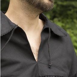 Pirate shirt Jack, black