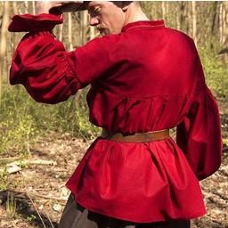 Camisa pirata Jack, rojo