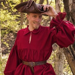 Piratenhemd Jack, rood
