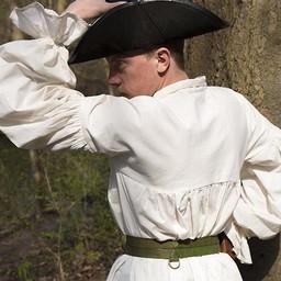 Camisa pirata Jack, natural.