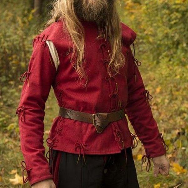 Epic Armoury Pourpoint Galileo, vermelho