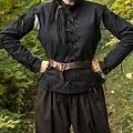 Epic Armoury Pourpoint Galileo, zwart