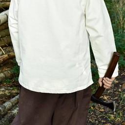 Medieval koszula Roland, naturalne