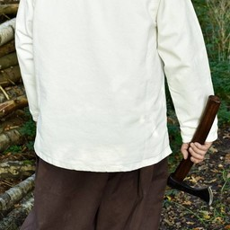 Middeleeuws hemd Roland, naturel