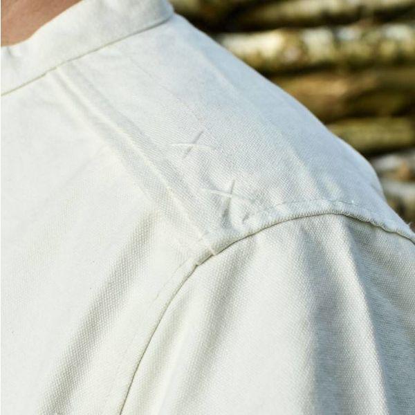 Camisa medieval Roland, natural