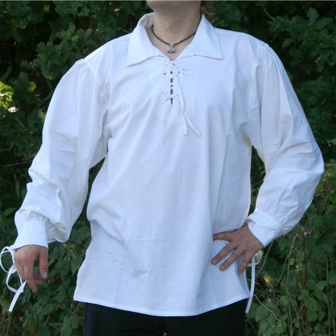 Mittelalterliches Hemd Rawlin, natürliche