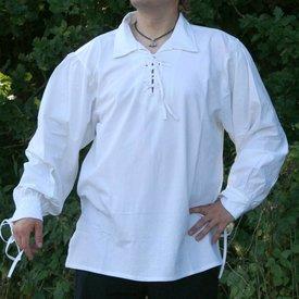 Middelalderlig shirt Rawlin, naturlig