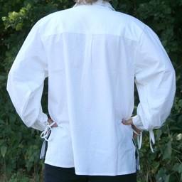 Camisa medieval de rawlin, natural.