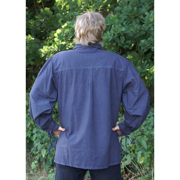 Medieval Shirt Rawlin, blau