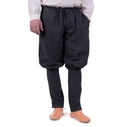 Viking trousers Floki, black