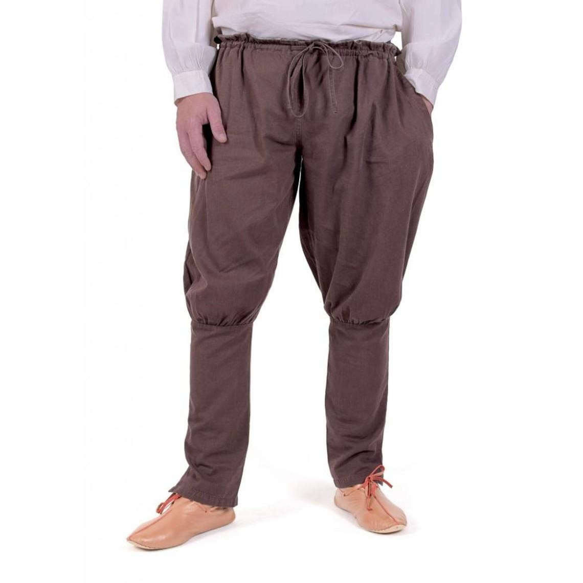 Pantalón vikingo floki, marrón