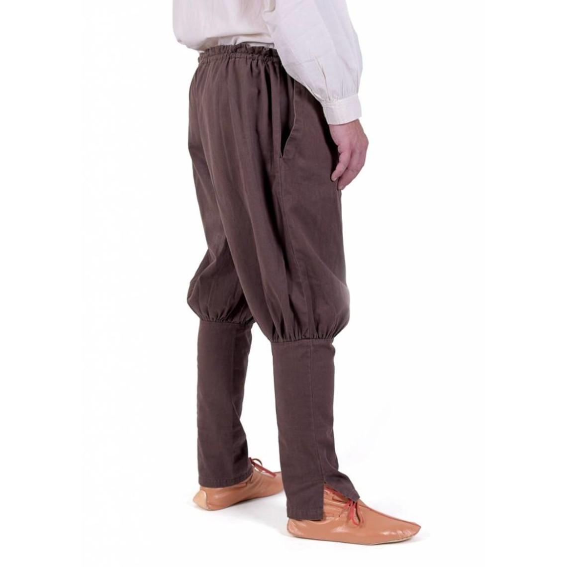 Pantalon Viking Floki, marron