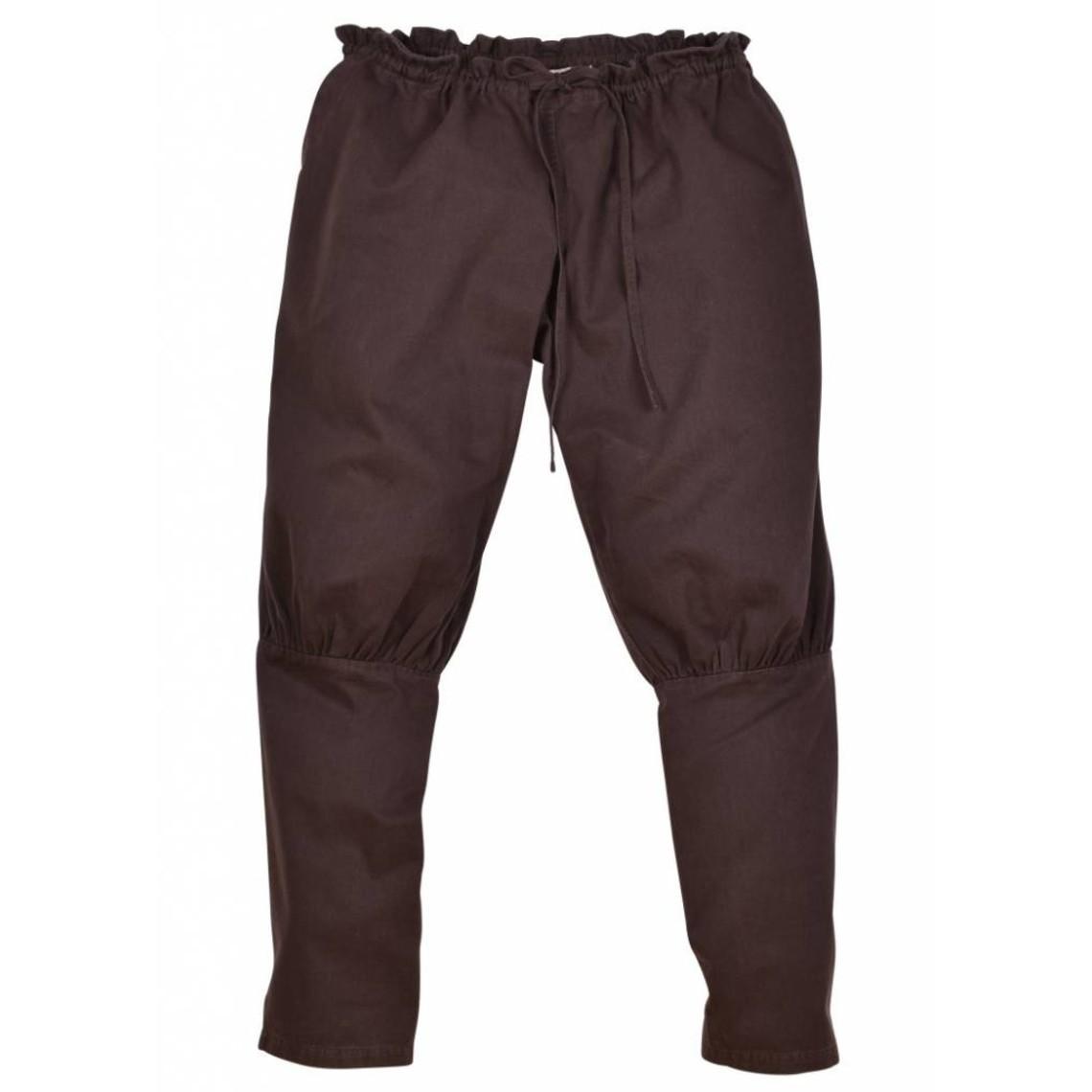 Viking Spodnie Floki, brązowy